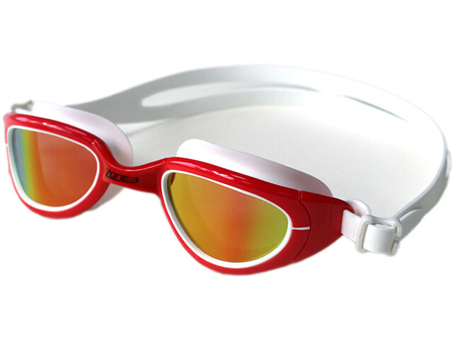Zone3 Attack Goggles, rood/wit